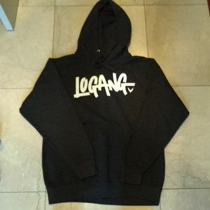 The Logang Maveric Logan Men/'s Pink Black Hoodie Limited Edition